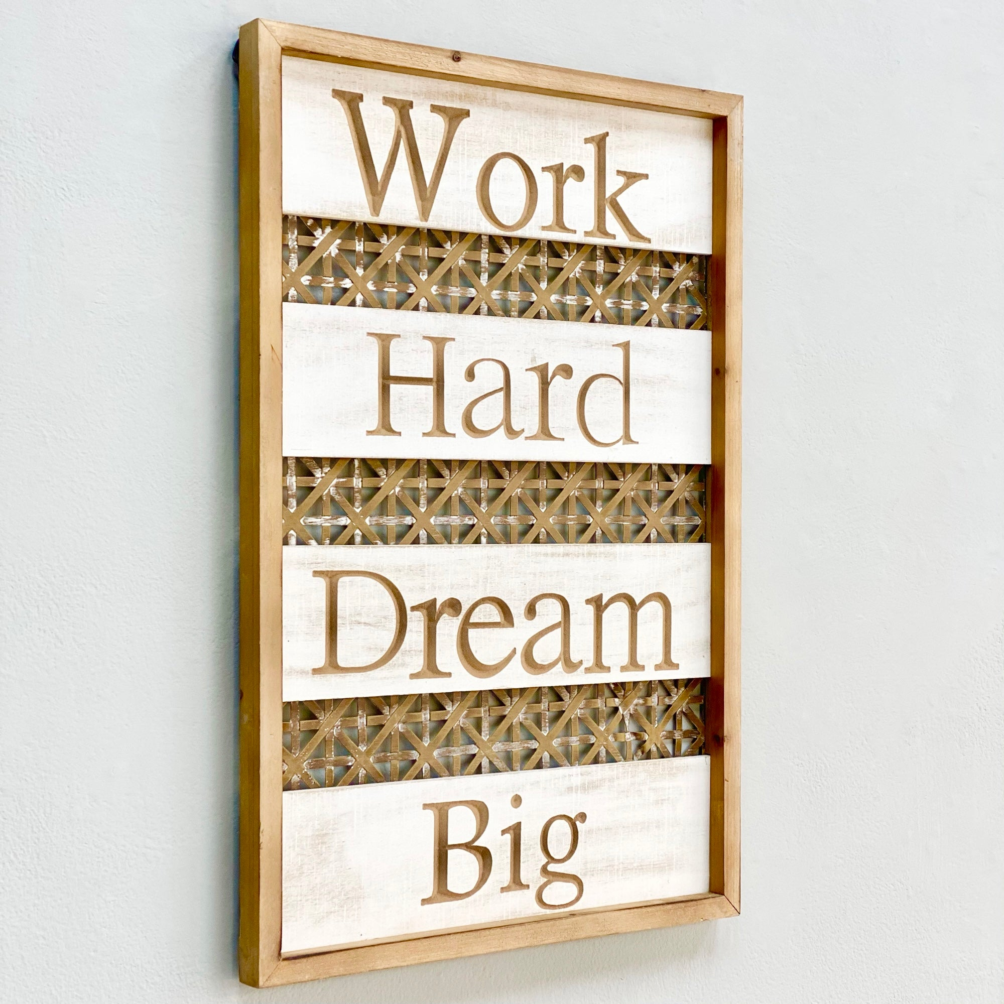 Work Hard Dream Big Wall Art