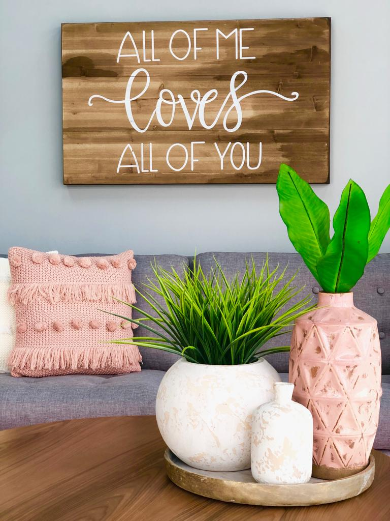 Wooden All Of Me Wall Art