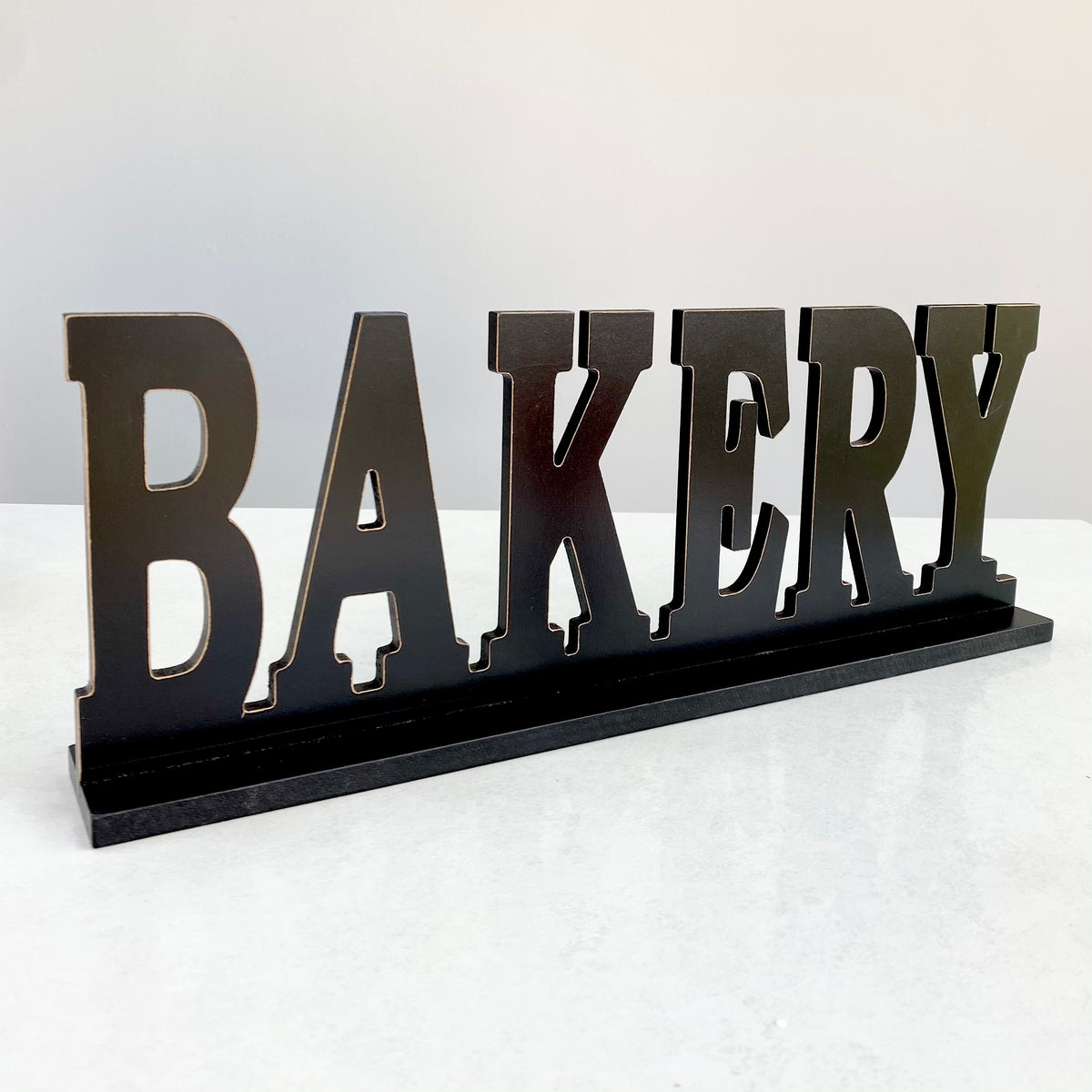 "Table Top  Wood  ""Bakery"""