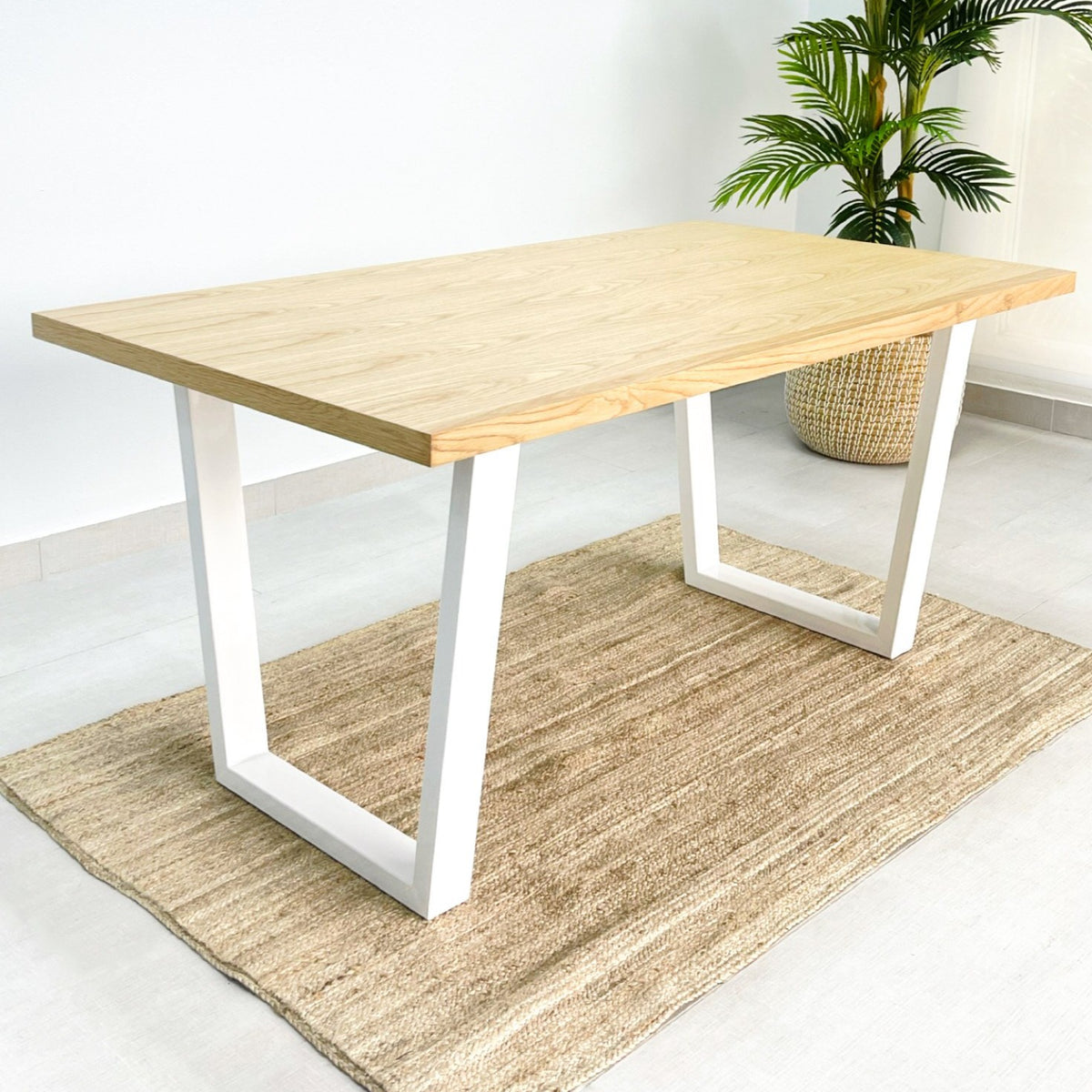 Clara Dining Table Wood Top