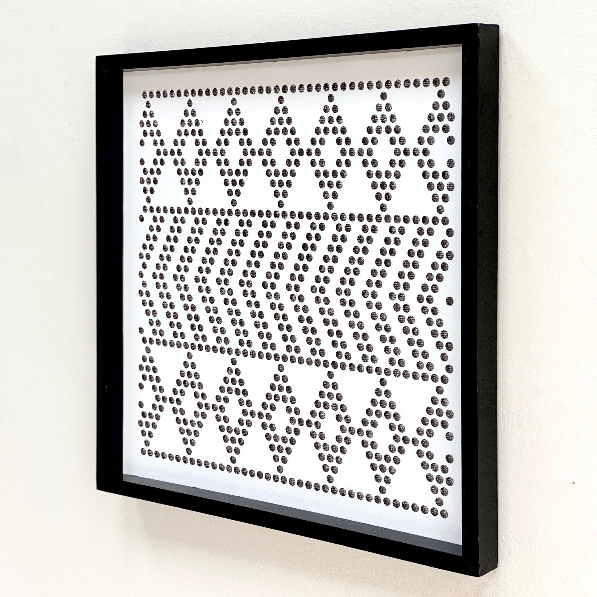 Perforated Arrow Metal Wall Art