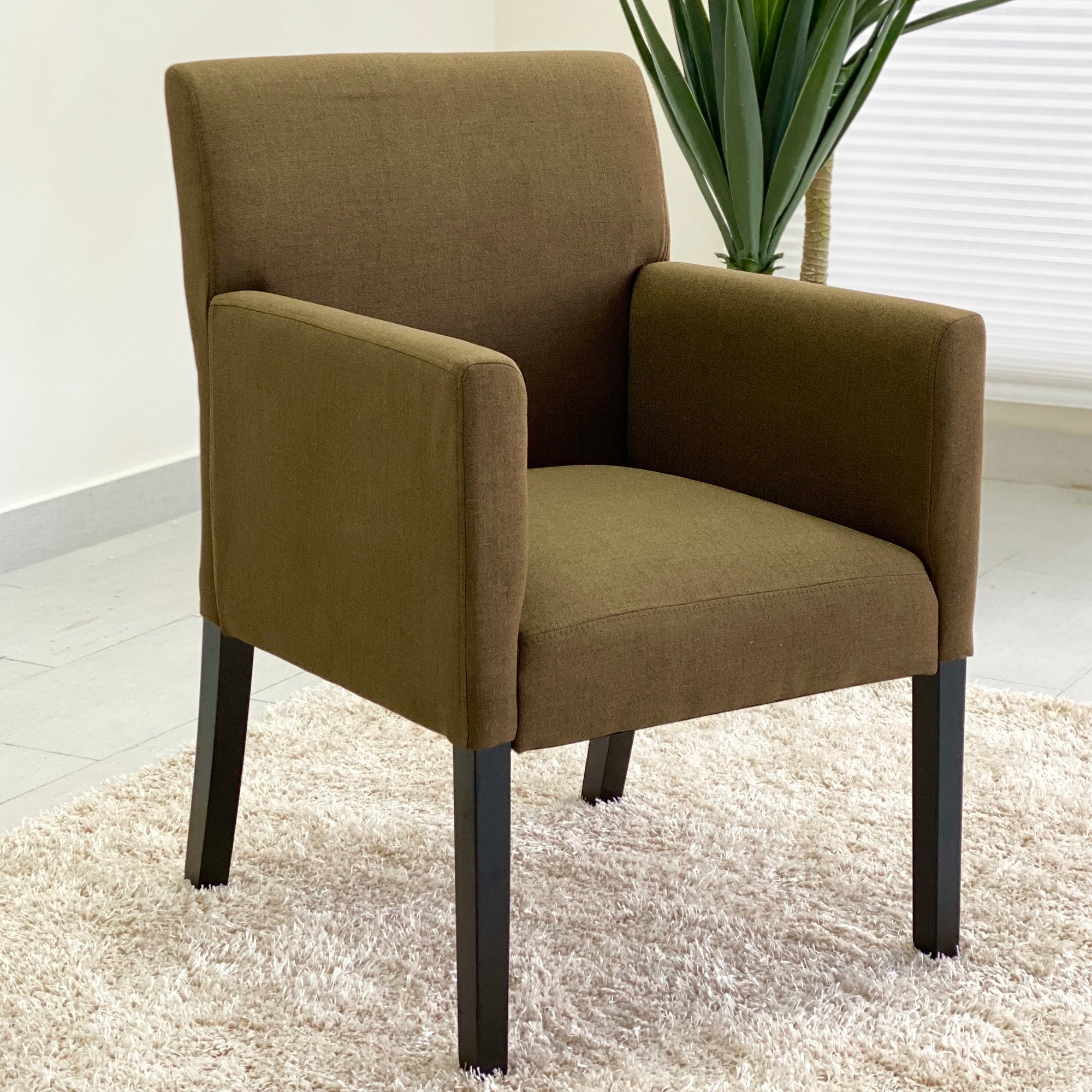 Rouse Accent Brown Fabric Chair