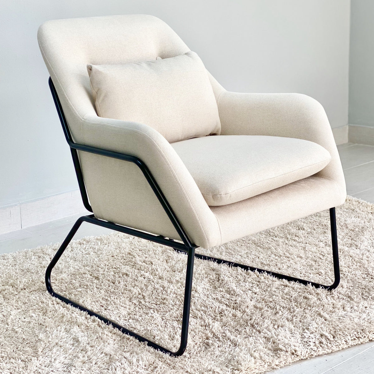 Framed Laurent Ivory Chair