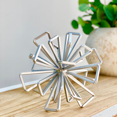 Metal Silver Star Table Decor