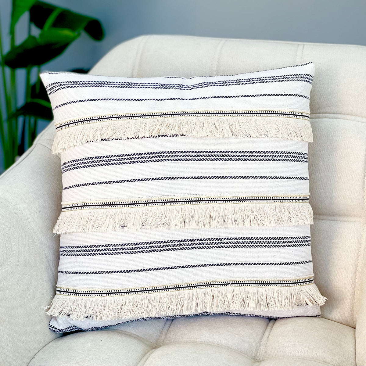 Golden Zipper Pillow