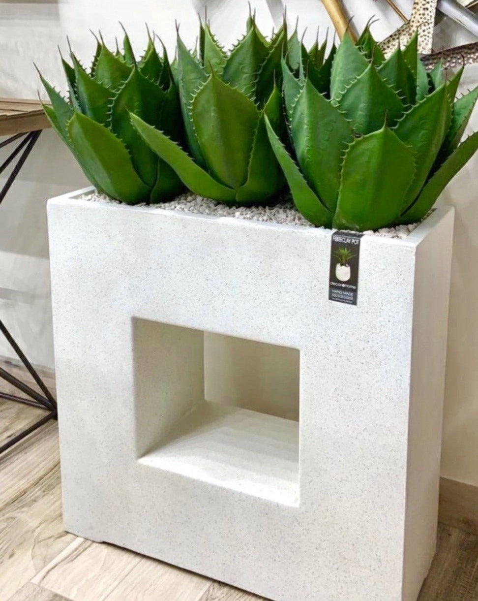 Fiber Clay Terrazo Planter