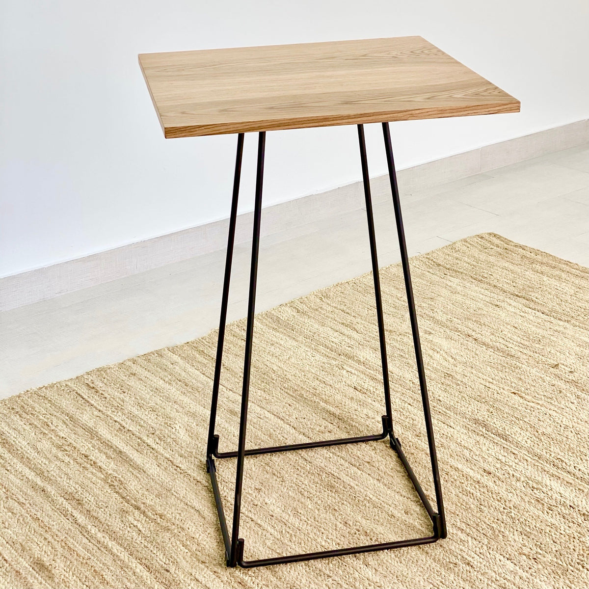 Adalis Walnut Wooden Bar Table