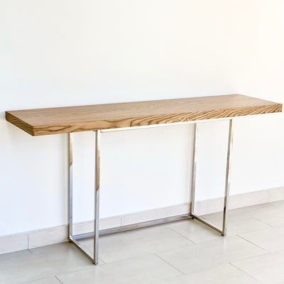 Harmony Walnut Top Console Table