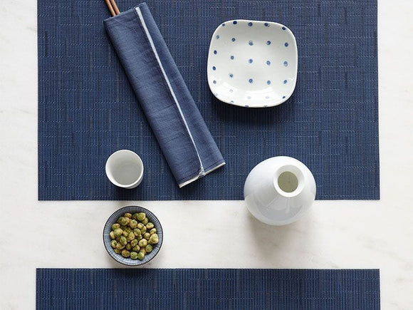 Chilewich Bamboo Rectangle Placemat     Set/4     Available in 19 colors