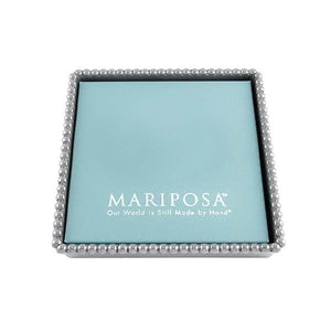 Mariposa Beaded Napkin Box with Insert  3 sizes available