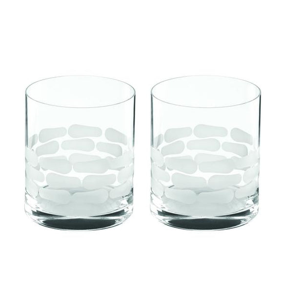 Michael Wainwright Truro Double Old Fashioned Glass Set/2