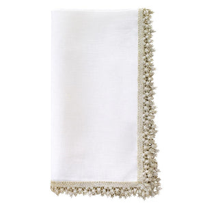 Bodrum Victoria Linen Napkins Set/4 available in 2 colors