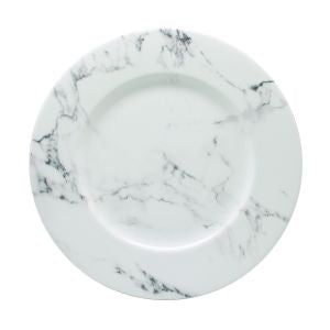 Prouna Villa Bianca Grey Dinner Plate set/4