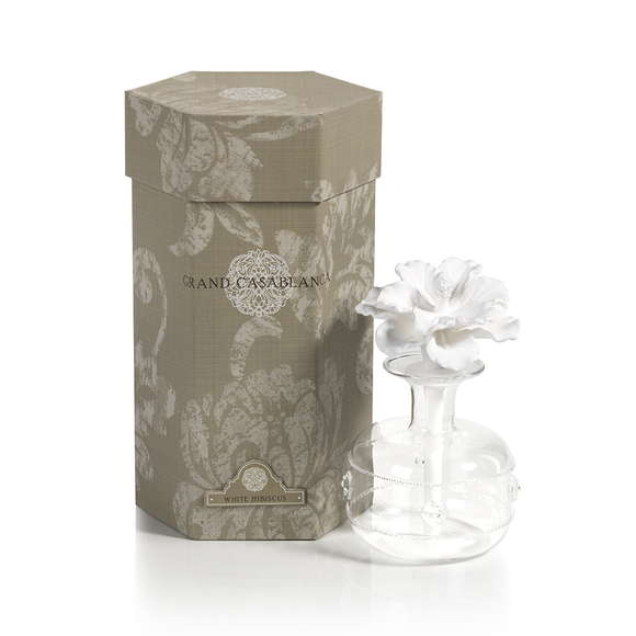 Grand Casablanca Porcelain Diffusers available in 3 fragrances