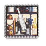 Mariposa Cocktail Napkin Box with Charm 9 styles available