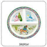 Baby Cie Sectioned Plate/assorted patterns