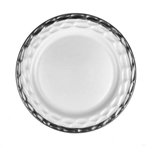 Truro White with Platinum Dinner Plate