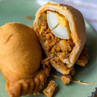 Signature Chicken Curry Puff - with Egg