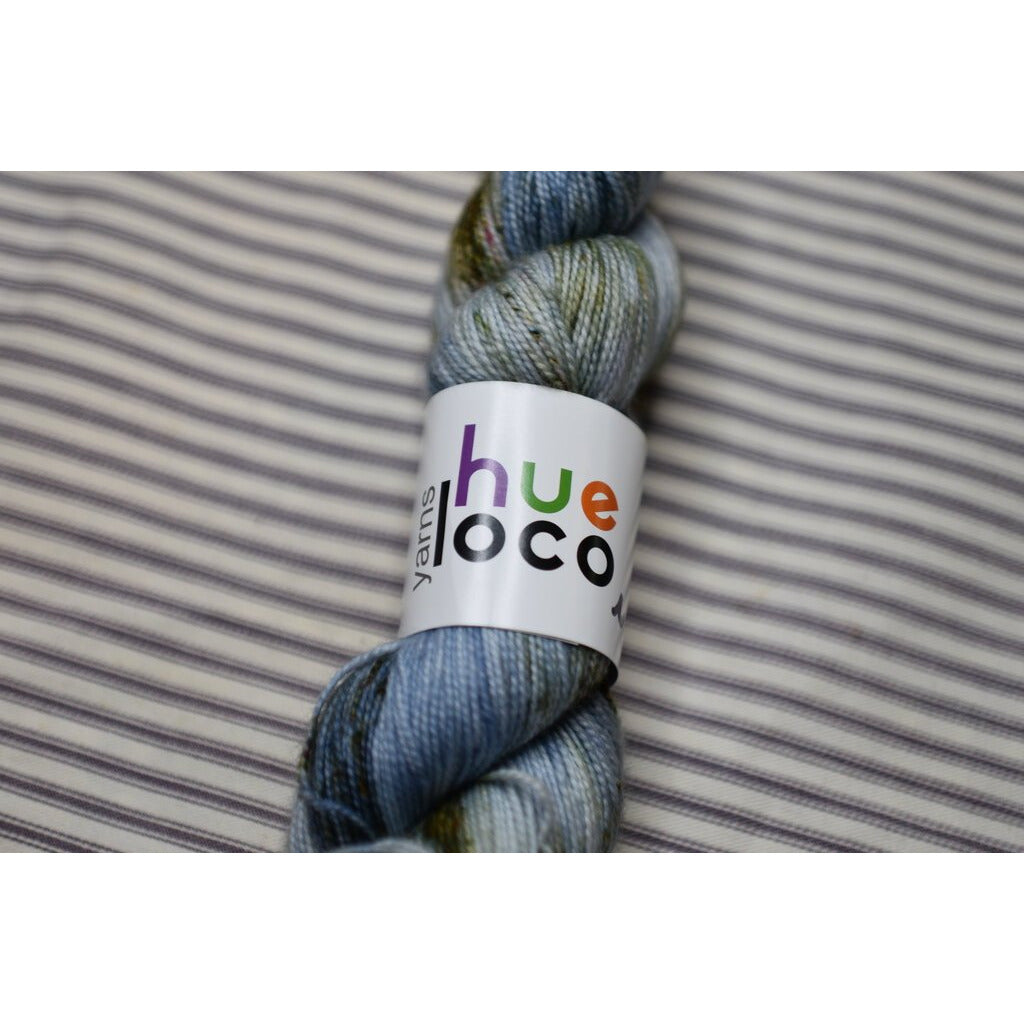 Hue LOCO  Midnight - Spun Sock - Shoptinkknit