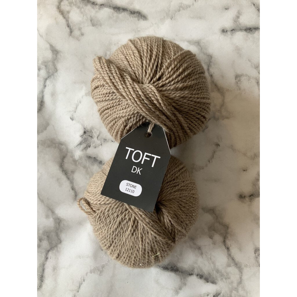 Toft Dk - Stone one with label and one without, sold as a set. - Shoptinkknit