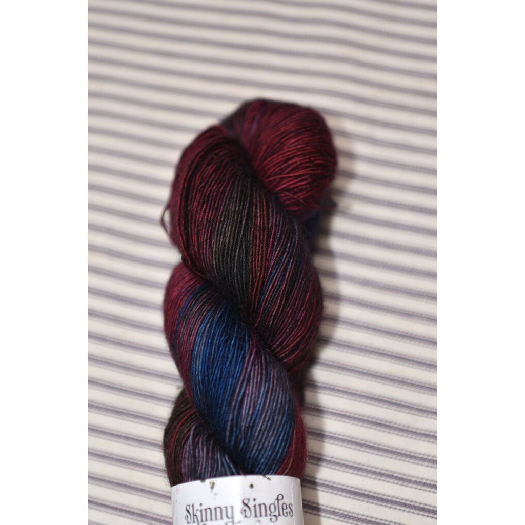 Hedgehog Fibres Skinny -  Malice - ONLY ONE LEFT - Shoptinkknit