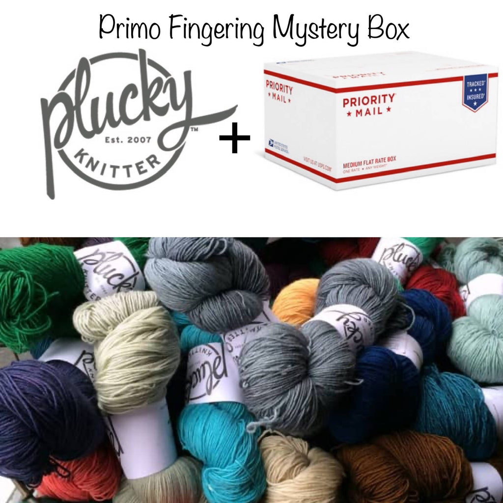 The Plucky Knitter Primo Fingering Mystery Box! - Shoptinkknit