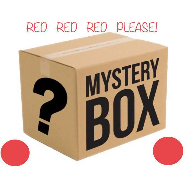 MYSTERY BOX OF YARN - RED PLEASE!