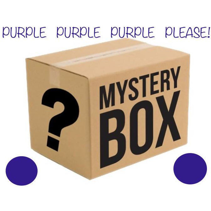 MYSTERY BOX OF YARN - PURPLE PLEASE! - Shoptinkknit