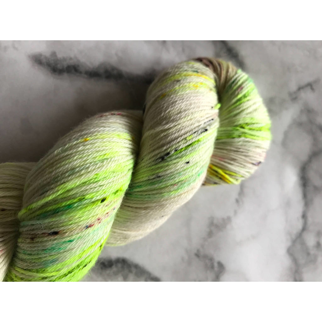 Hedgehog Fibres Sock Yarn - Pesto - Shoptinkknit