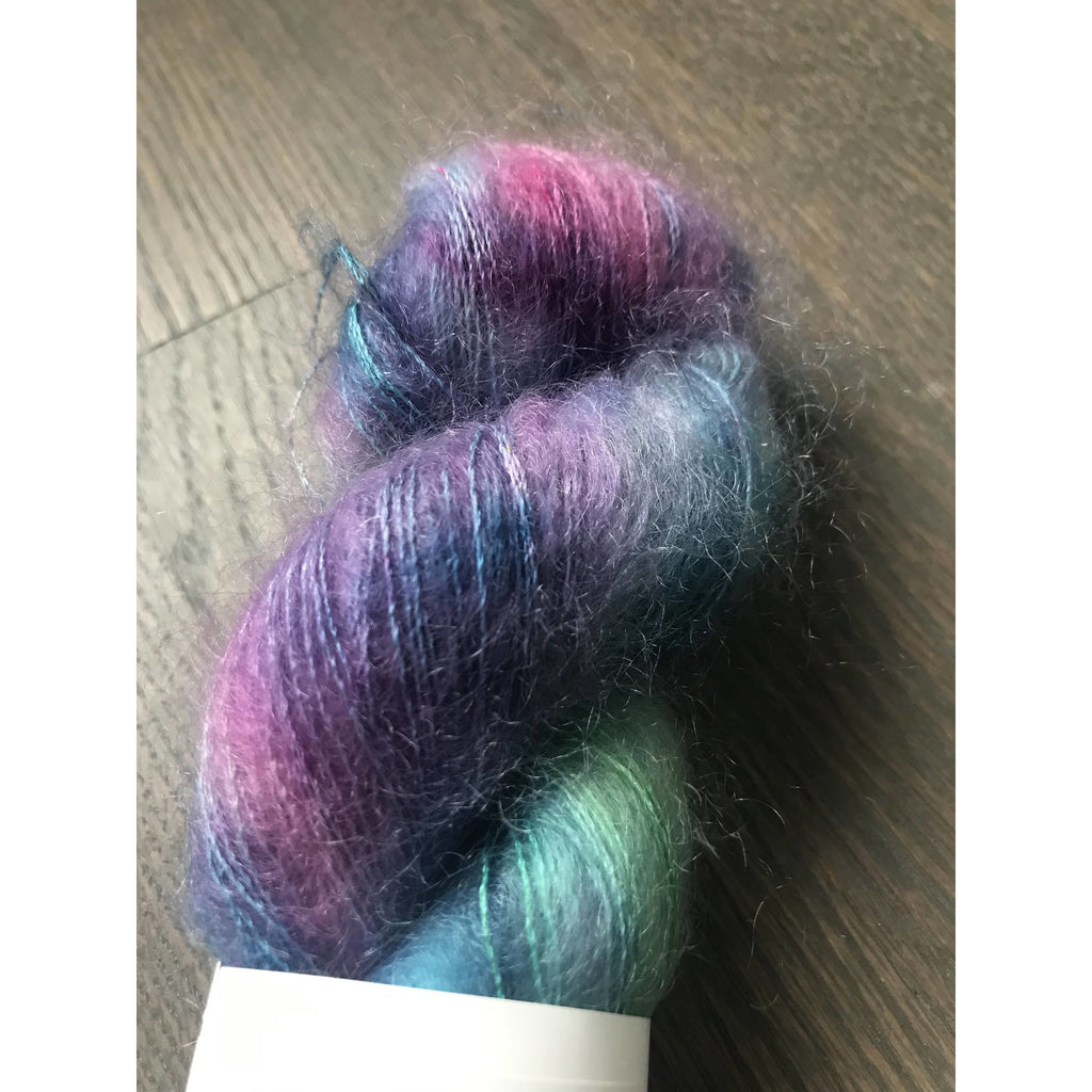 Stranded Dyeworks Mohair Silk- Naive Watercolor