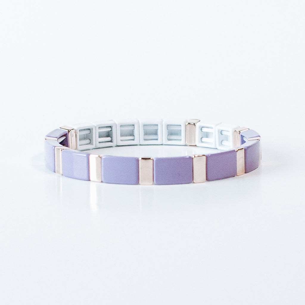 Block Bracelet - BE STILL