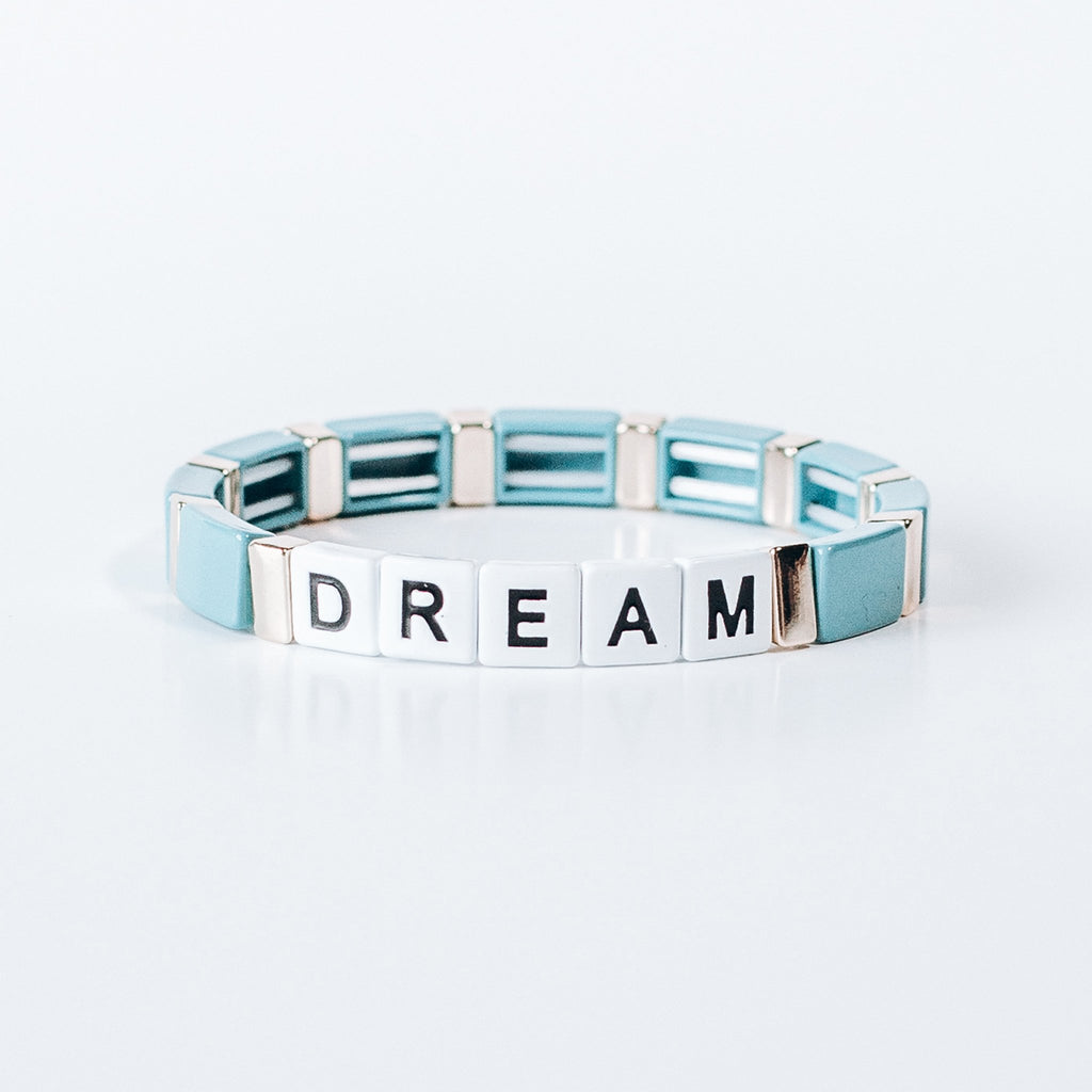Block Bracelet - DREAM