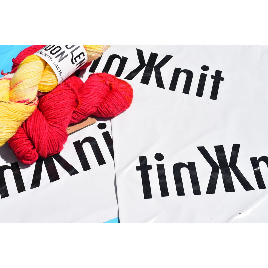 TINKKNIT Consignment Kit - LARGE POLY BAG - Shoptinkknit