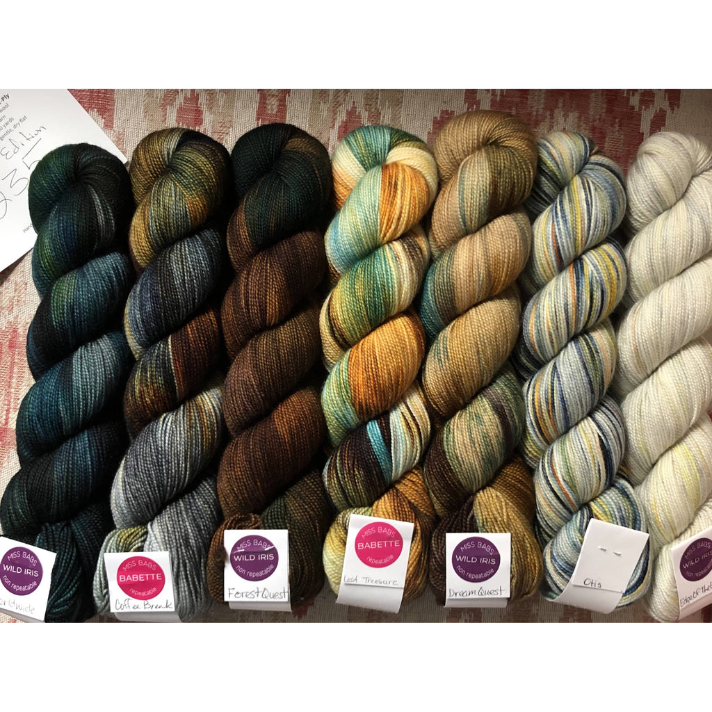 MISS BABS Special Edition 235 Find Your Fade Set - 7 Skeins of Yummy 2-Ply Yarn