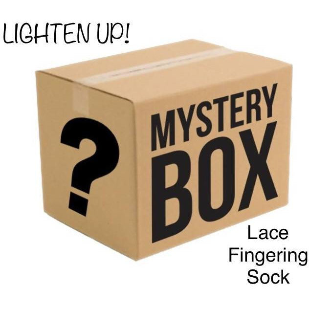 MYSTERY BOX OF YARN - LIGHTEN UP! - Shoptinkknit