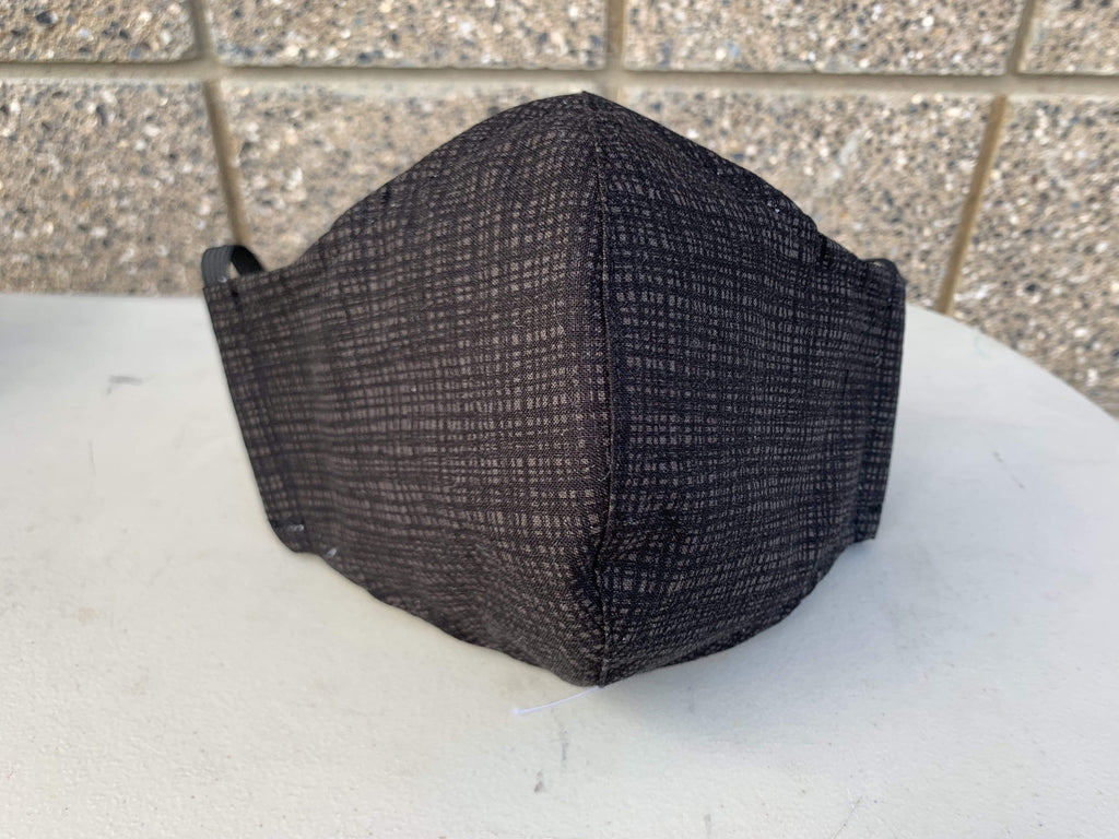 Cloth Face Mask - Fitted Style WITH FILTER POCKET