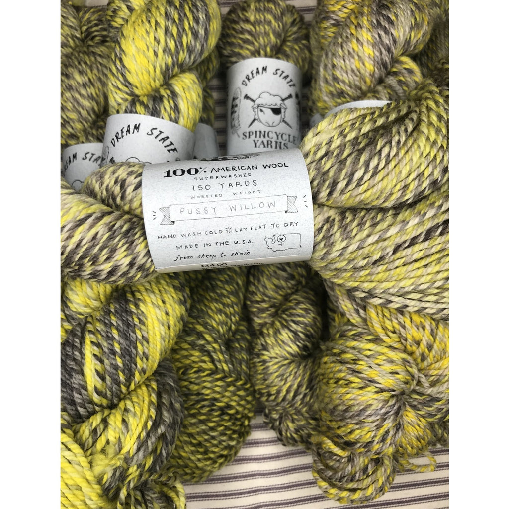 Spincycle Dream State – Pussy Willow - Shoptinkknit