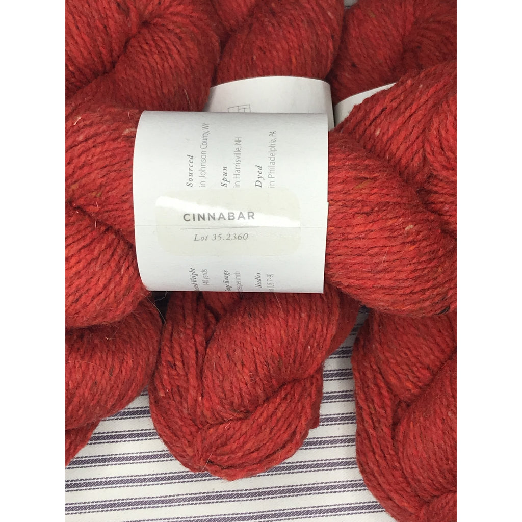 Brooklyn Tweed Shelter - Cinnabar - 7 Skeins - Shoptinkknit