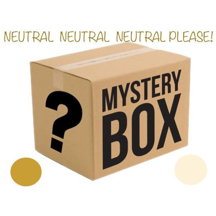 MYSTERY BOX OF YARN - NEUTRALS PLEASE! - Shoptinkknit