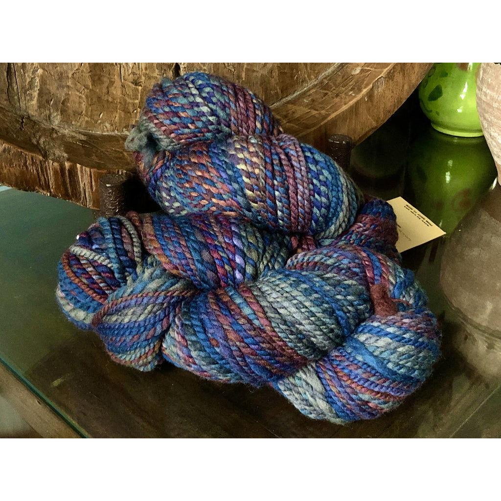 Two Skeins Spincycle Knit Fast Die Young Super Bulky Yarn - Coldblooded - 200yds