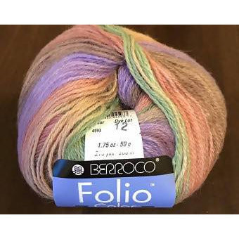 Berroco Folio Color Yarn, Color # 4593 Westbrook - Shoptinkknit