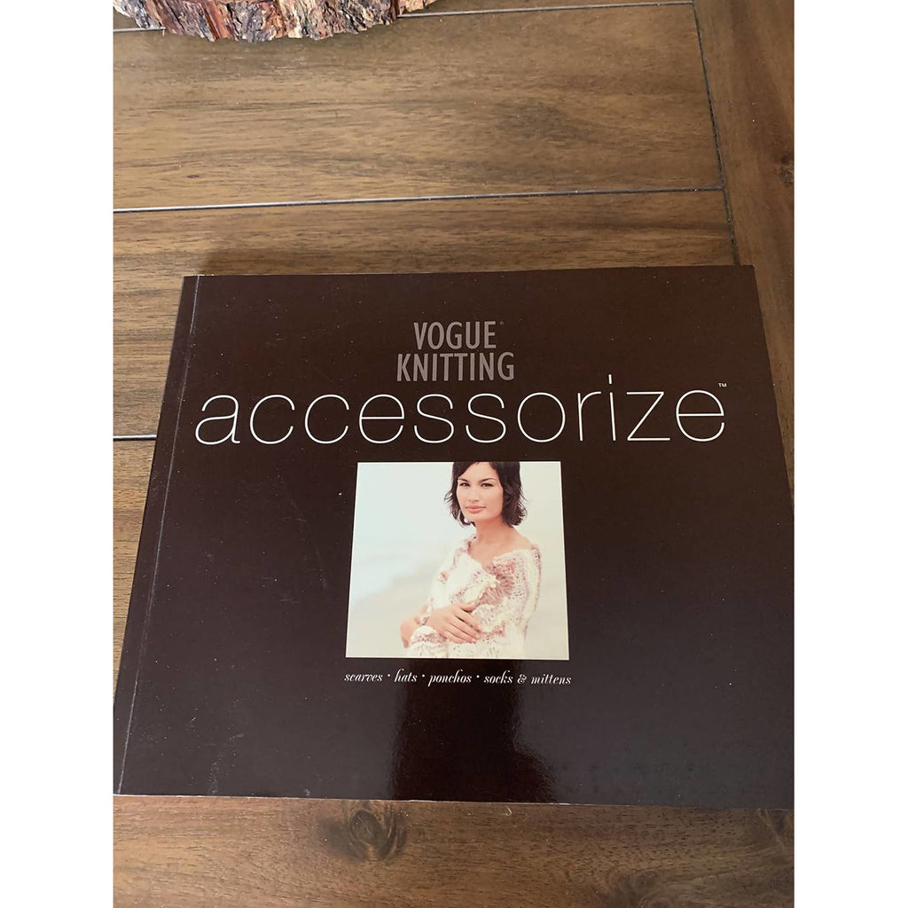 Vogue Knitting Accessorize Paperback - Shoptinkknit