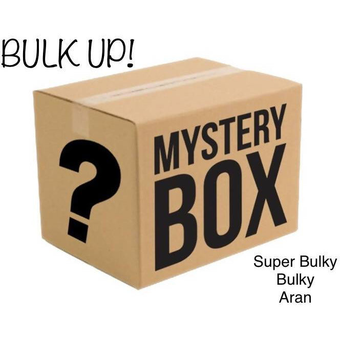 MYSTERY BOX OF YARN - BULK UP! - Shoptinkknit