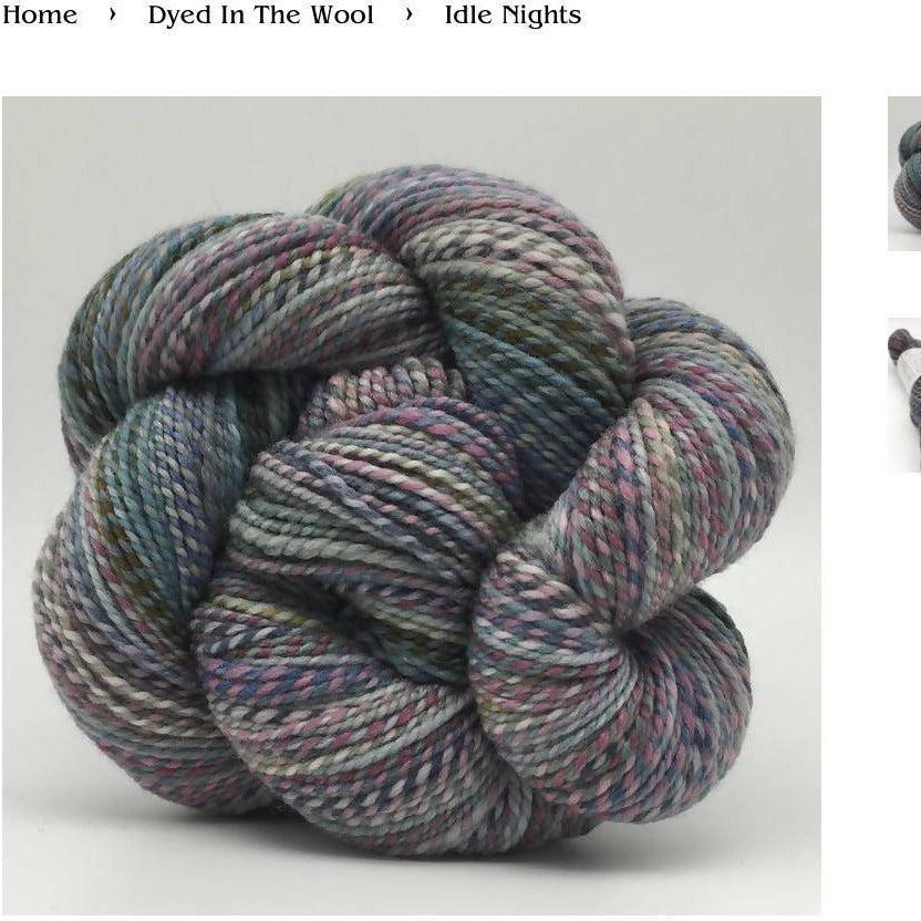 Spincycle Dyed In The Wool – Idle Night - Shoptinkknit