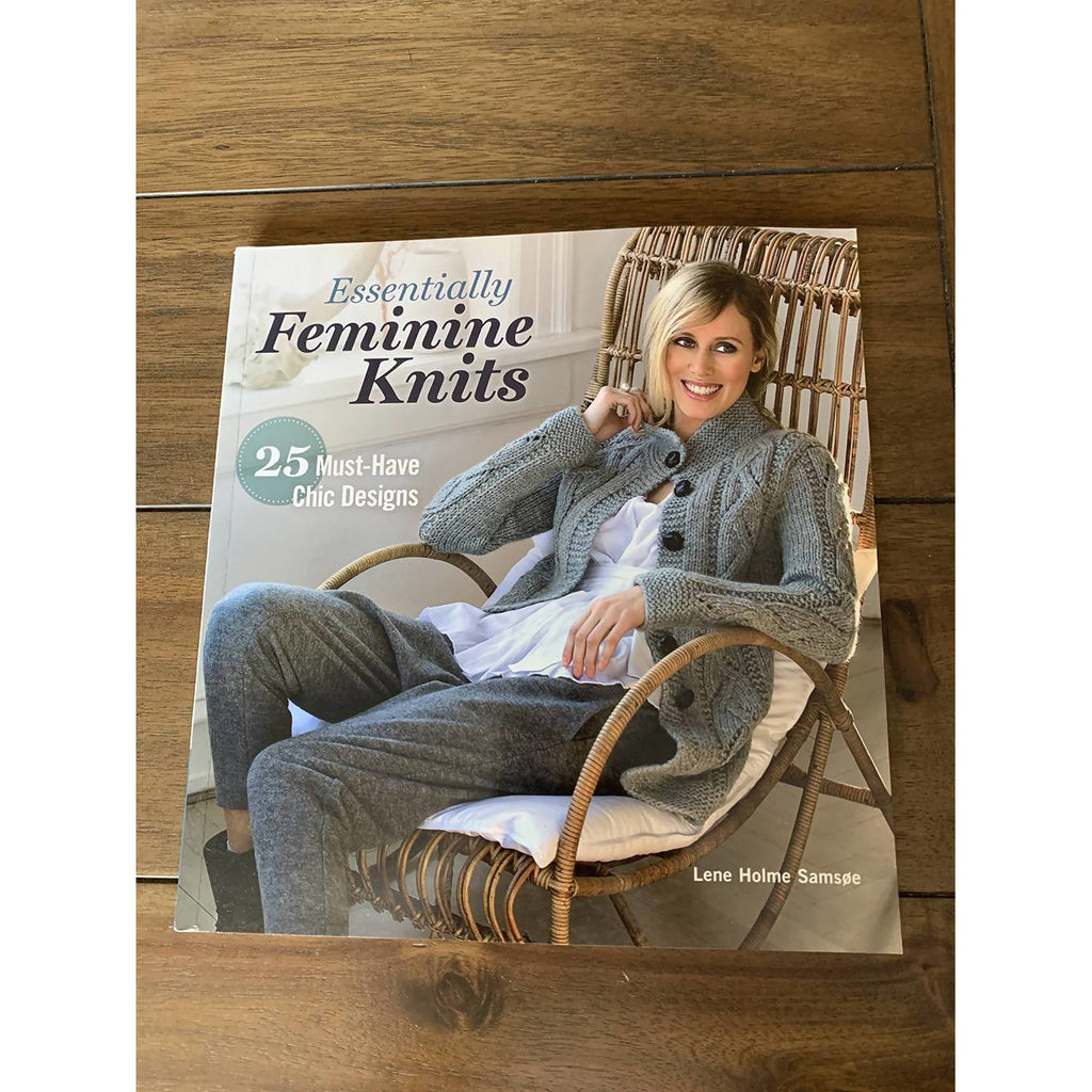 Essentially Feminine Knits: 25 Must-Have Chic Designs Paperback - Shoptinkknit