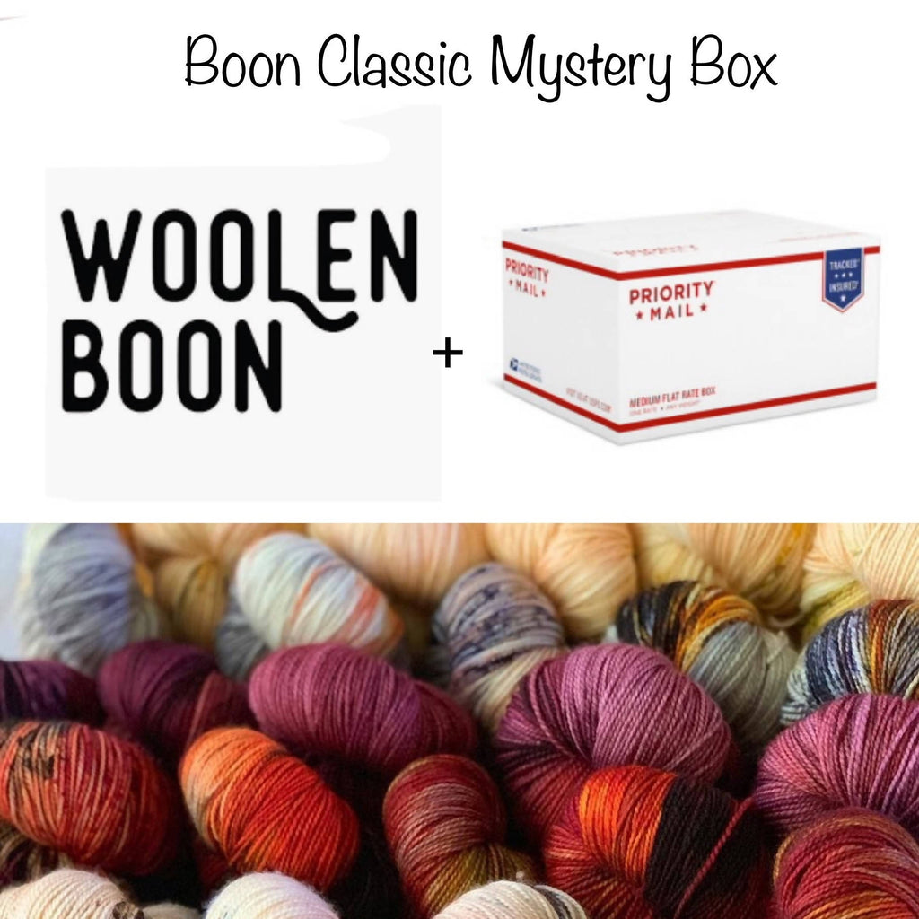 Woolen Boon Boon Classic Mystery Boxes! - Shoptinkknit