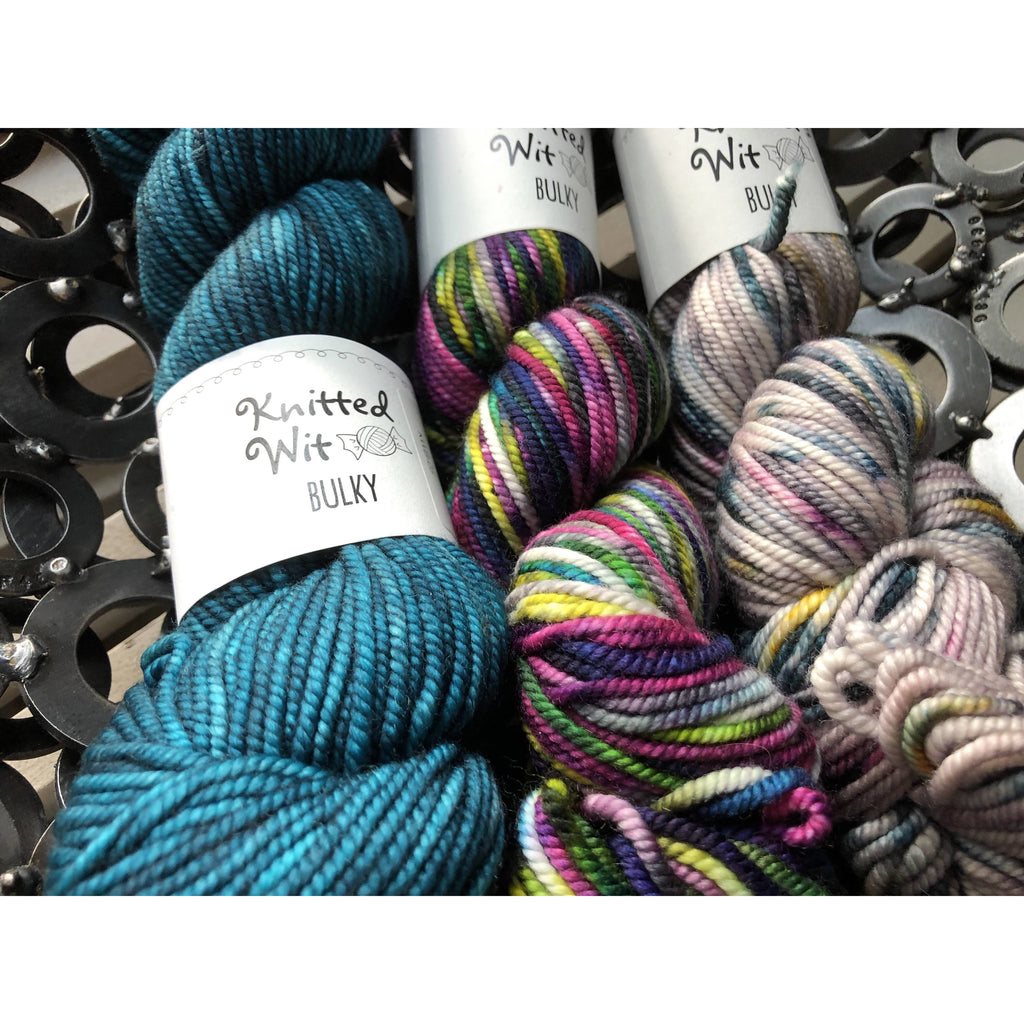 Three (3) Skeins of Knitted Wit Bulky - Shoptinkknit