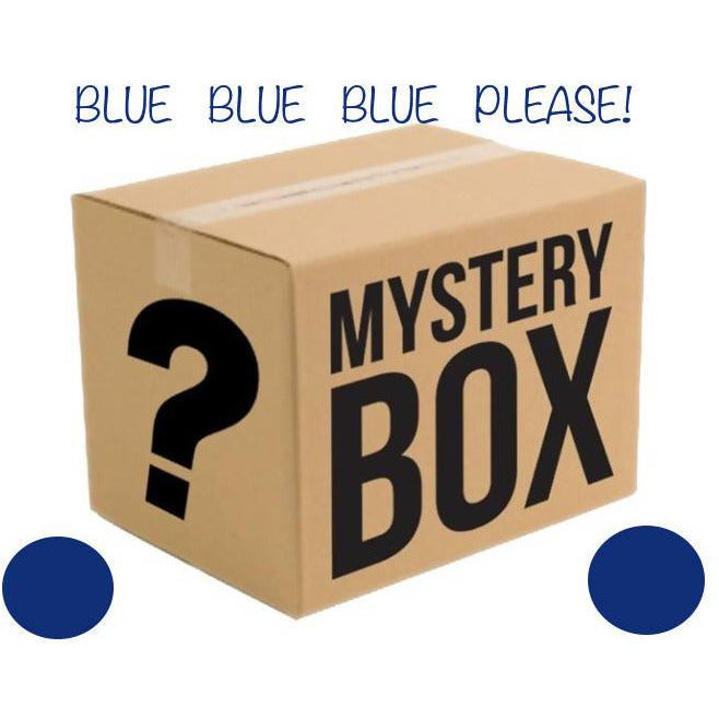 MYSTERY YARN BOX - BLUE PLEASE! - Shoptinkknit