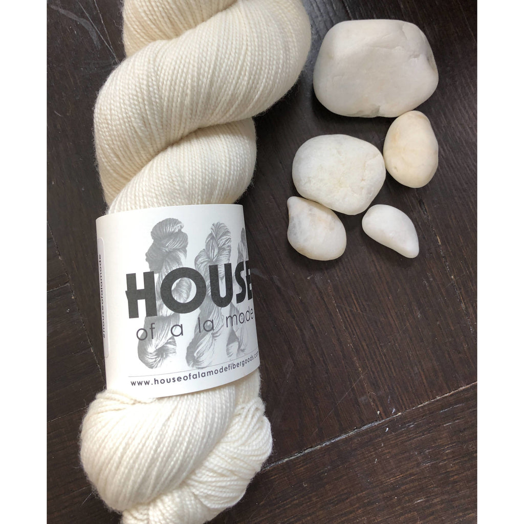 One (1) Skein of House of a la Mode House Fingering (2 ply) - Poodle - Shoptinkknit