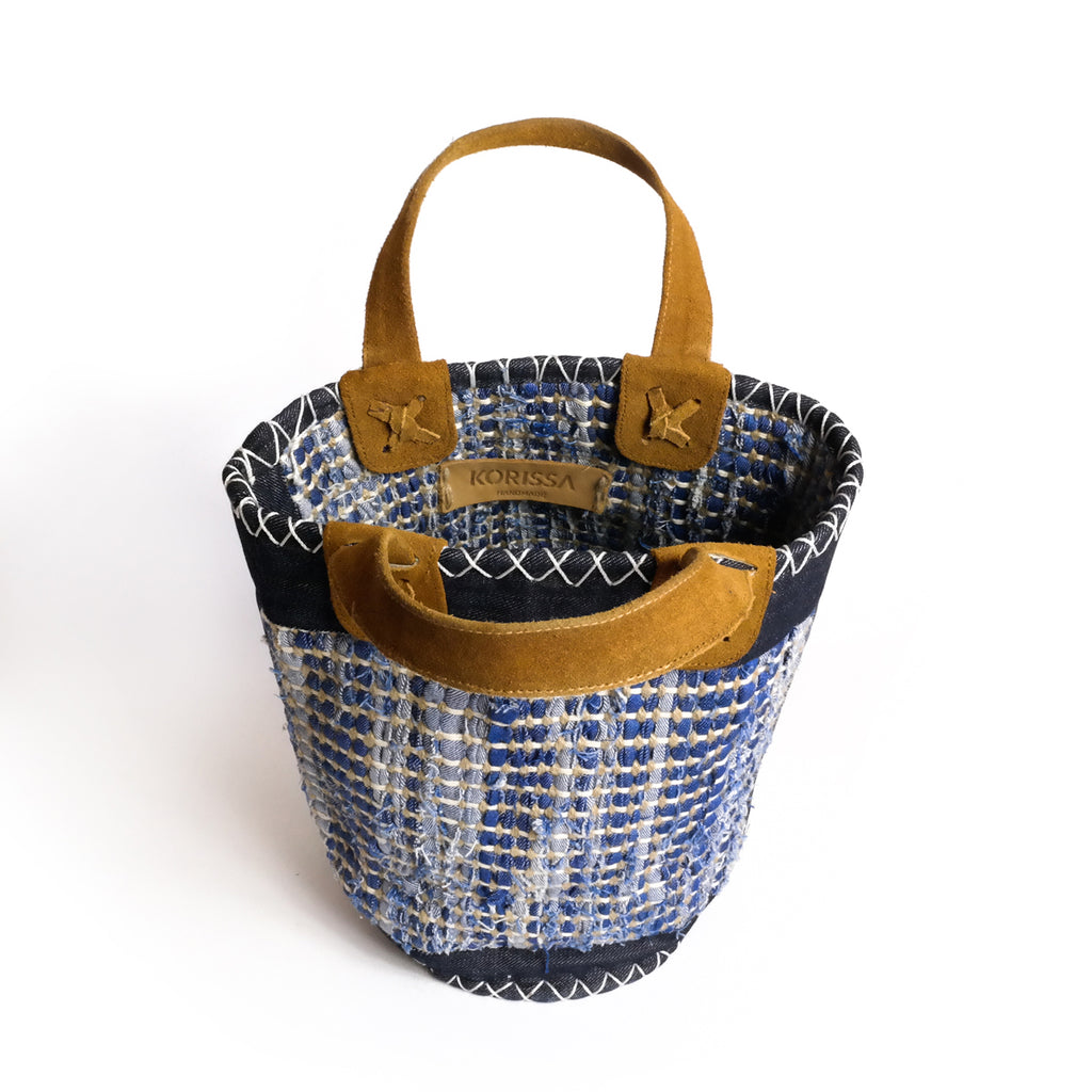 Banani Denim Basket Bag